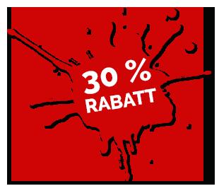 30% rabatt på materialkostnader